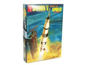 AMT Saturn V Rocket 1:200 Scale Model Kit