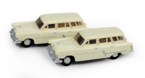 Classic Metal Works 1953 Ford Station Wagon (Sungate Ivory) (2-Pack) 1:160 N Scale