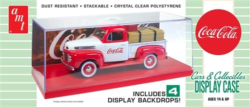 AMT Cars & Collectibles Display Case (Coca-Cola) 1:25 Scale Model Kit
