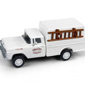 Classic Metal Works 1960 Ford F-250 Utility Truck (Plumbing Service) 1:87 HO Scale