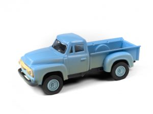 Classic Metal Works 1954 Ford Pickup (Glacier Blue) (Dirty/Weathered) 1:87 HO Scale