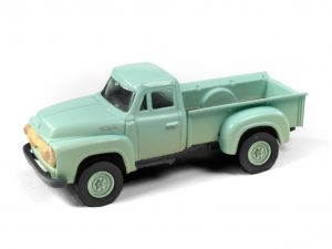 Classic Metal Works 1954 Ford Pickup (Sea Haze Green) (Dirty/Weathered) 1:87 HO Scale