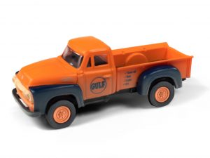 Classic Metal Works 1954 Ford Pickup (Gulf Oil) (Dirty/Weathered) 1:87 HO Scale