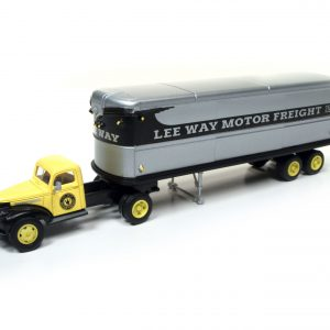 Classic Metal Works 1941/46 Chevy Tractor/Trailer Set - Lee Way 1:87 HO Scale