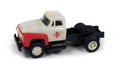 Classic Metal Works 1954 Ford F-350 Semi Tractor (Santa Fe) 1:87 HO Scale