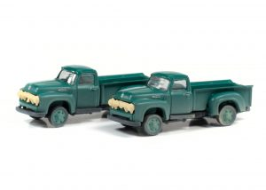 Classic Metal Works 1954 Ford Pickup (Meadow Green) (2-Pack) 1:160 N Scale