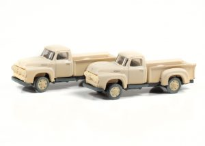 Classic Metal Works 1954 Ford Pickup (Sandstone White) (2-Pack) 1:160 N Scale