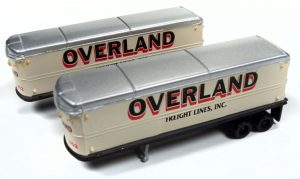 Classic Metal Works AeroVan Trailer (Overland Freight) (2-Pack) 1:160 N Scale
