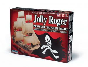 Lindberg Jolly Roger Pirate Ship 1/130 Scale Model Kit