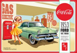 AMT 1953 Ford Victoria Hardtop w/Coca-Cola Machine 1:25 Scale Model Kit