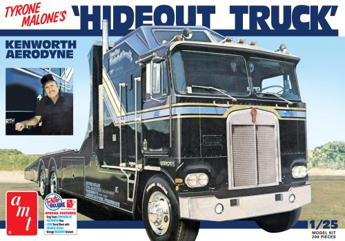 AMT Hideout Transporter Kenworth (Tyrone Malone) 1:25 Scale Model Kit