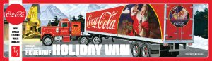 AMT Fruehauf Holiday Hauler Semi Trailer (Coca-Cola) 1:25 Scale Model Kit