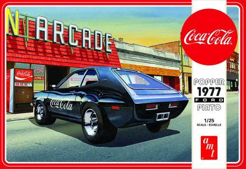 """AMT """"Popper"""" 1977 Ford Pinto w/Coke Machine (Coca-Cola) 1:25 Scale Model Kit"""