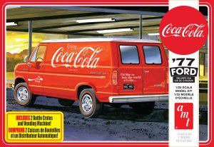 AMT 1977 Ford Van w/Vending Machine (Coca-Cola) 1:25 Scale Model Kit