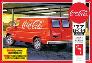 AMT 1977 Ford Van w/Vending Machine (Coca-Cola) 1:25 Scale Model Kit