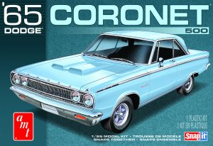 AMT 1965 Dodge Coronet (Snap) 1:25 Scale Kit
