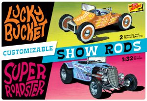 Lindberg Customizable Street Rod (2-pack) 1:32 Scale Model Kits