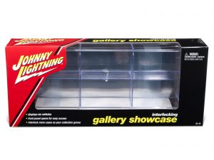 Johnny Lightning Six Car Interlocking Display Case 1:64 Scale