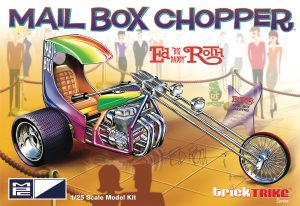 MPC Ed Roth's Mail Box Chopper (Trick Trikes Series) 1:25 Scale Model Kit