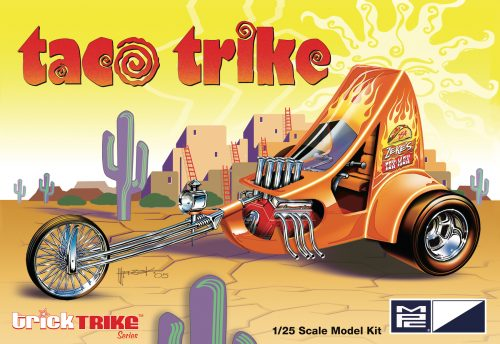 MPC Taco Trike (Trick Trikes Series) 1:25 Scale Model Kit