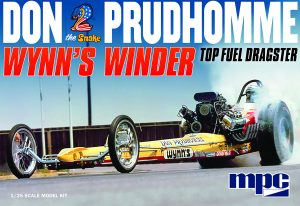 "MPC Don ""Snake"" Prudhomme Wynns Winder Dragster 1:25 Scale Model Kit"