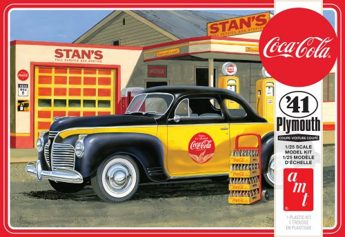 AMT 1941 Plymouth Coupe (Coca-Cola) 2T