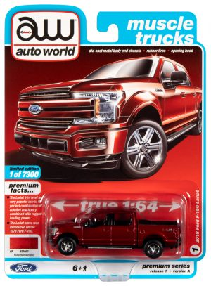 Auto World Ford F-150 - Ruby Red Metallic