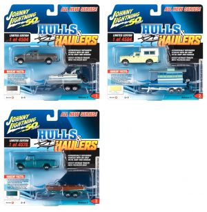 Johnny Lightning Hulls & Haulers 2019 Release 2 - Set B