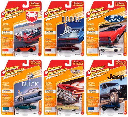 Johnny Lightning Classic Gold 2020 Release 1 Set A 1:64 Diecast