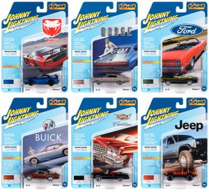 Johnny Lightning Classic Gold 2020 Release 1 - Set B