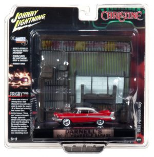 Johnny Lightning Christine 1958 Plymouth Fury Diorama