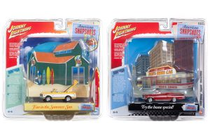 Johnny Lightning 2019 Diorama Series Release 3