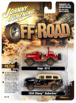 Johnny Lightning Themed 2-Pack - Off Road