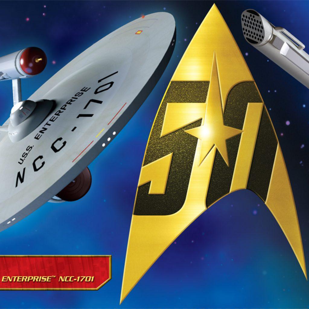 Star Trek TOS U.S.S. Enterprise Pilot Parts Pack 1:350 Scale