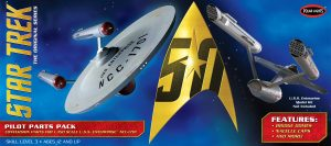 Star Trek TOS U.S.S. Enterprise Pilot Parts Pack 1:350 Scale