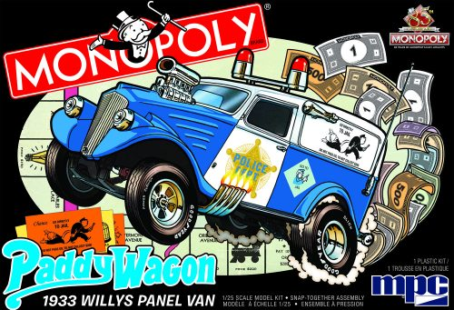 MPC 1933 Willys Panel Paddy Wagon (Monopoly) 2T