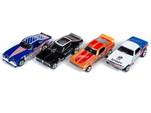 Legends of the Quarter Mile - 4 Gear - Release 22 - HO Scale
