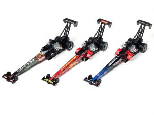 NHRA Top Fuel Dragsters - 4 Gear - Release 22 - HO Scale