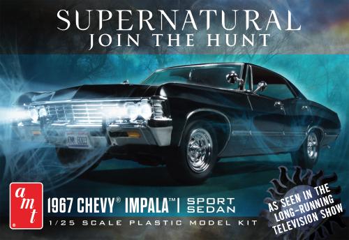AMT 1967 Chevy Impala 4-Door Supernatural 1:25 Scale Model Kit