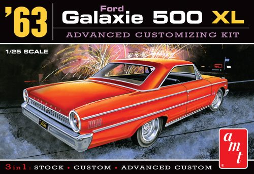 AMT 1963 Ford Galaxie 1:25 Scale Model Kit