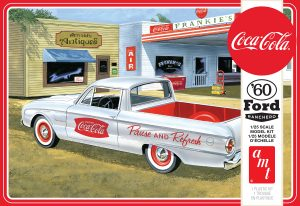 AMT 1960 Ford Ranchero w/Coke Chest (Coca-Cola) 1:25 Scale Model Kit