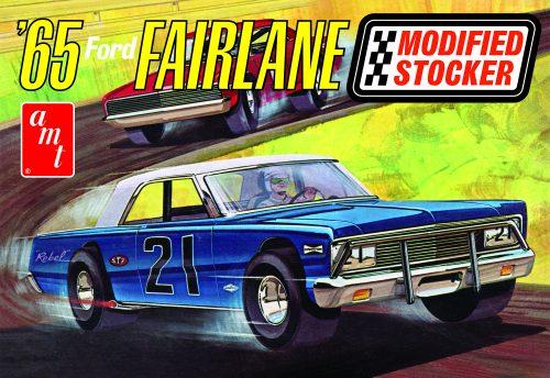 AMT 1965 Ford Fairlane Modified Stocker 1:25 Scale Model Kit