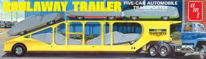 AMT 5-Car Haulaway Trailer 1:25 Scale Model Kit