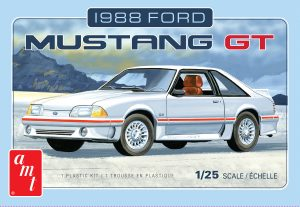 AMT 1988 Ford Mustang 1:25 Scale Model Kit