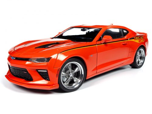 Auto World 2016 Chevy Camaro Hardtop (MCACN & NICKEY) 1:18 Scale Diecast