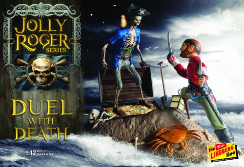 Lindberg Jolly Roger Series: Duel with Death 2T 1:12 Scale Model Kit