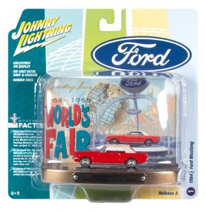 1964 World's Fair Tin Display w/1964 Ford Mustang