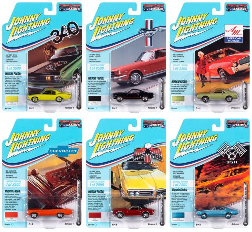 Johnny Lightning Muscle Cars USA 2020 Release 1 Set A 1:64 Diecast