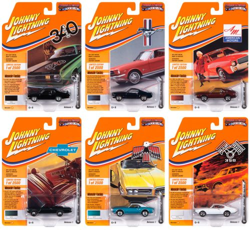 Johnny Lightning Muscle Cars USA 2020 Release 1 Set B 1:64 Diecast