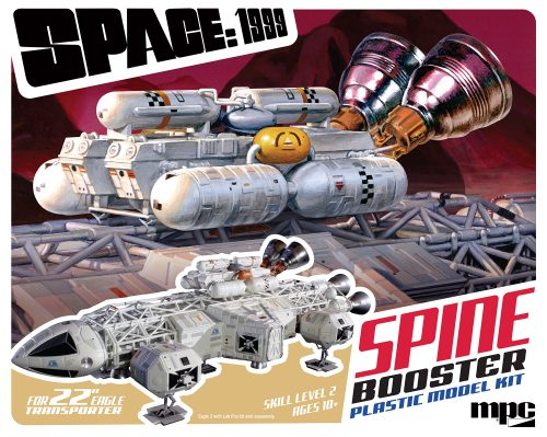 """Space:1999 22"""" Booster Pack Accessory Set 1:48 Scale"""